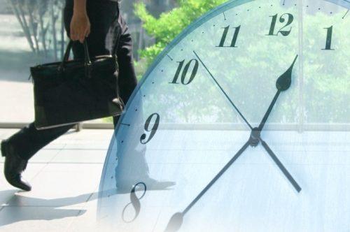 人間と時計