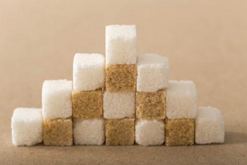 角砂糖の山積み