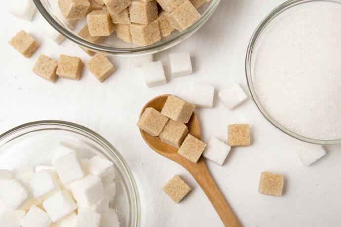 砂糖がいっぱい