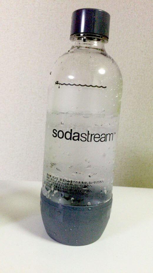 ソーダストリームに付属している大きなペットボトル