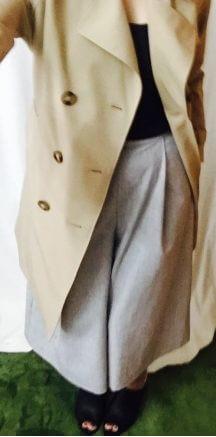 しまむらで購入した大人かわいいトレンチコートを着てみた