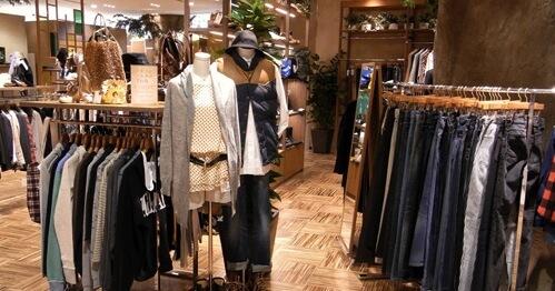渋谷、吉祥寺、など都内を中心に数店舗展開中の古着屋RAGTAG