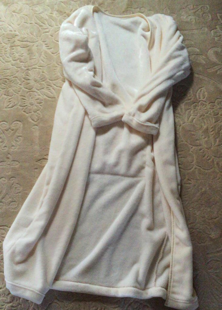 しまむら着る毛布