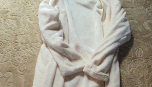 【しまむら着る毛布】私も買いました♪もこもこでとっても暖かいんです。
