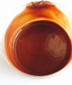 治一郎のプリンのチョコ味