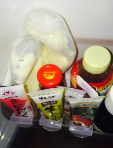 セリアの薬味チューブホルダーは冷蔵庫をすっきりさせてくれる