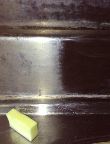 ダイアモンドパフでシンク掃除したら汚れが劇的に落ちた