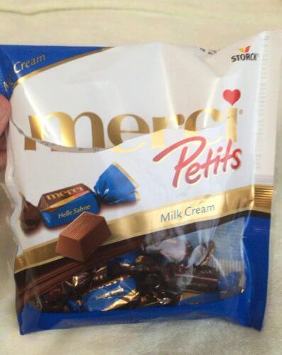 ストークmerci Petits のチョコレート