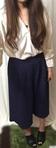 しまむら、GU、ユニクロの服を使った大人可愛いシンプルコーデ