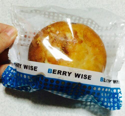 成城石井で買ったBERRY WISEのマフィン