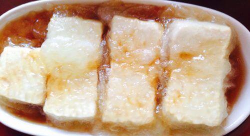 三代目茂蔵の揚げだし豆腐