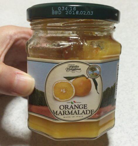 フルッタチェレスティーナのオレンジマーマレード