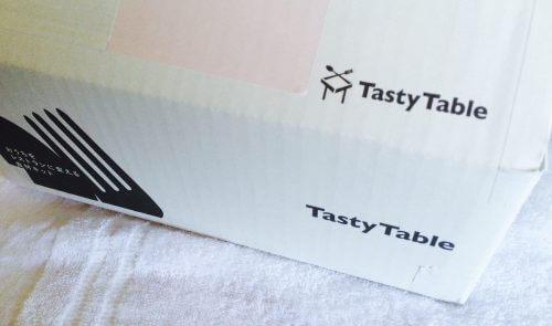 tasty tableの魅せるミールキットの箱