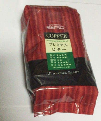 成城石井のコーヒープレミアムビター