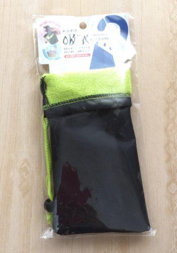 セリアの吸水折りたたみ傘用カバー