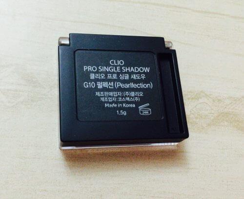 CLIO(クリオ)のPro Single ShadowのG10