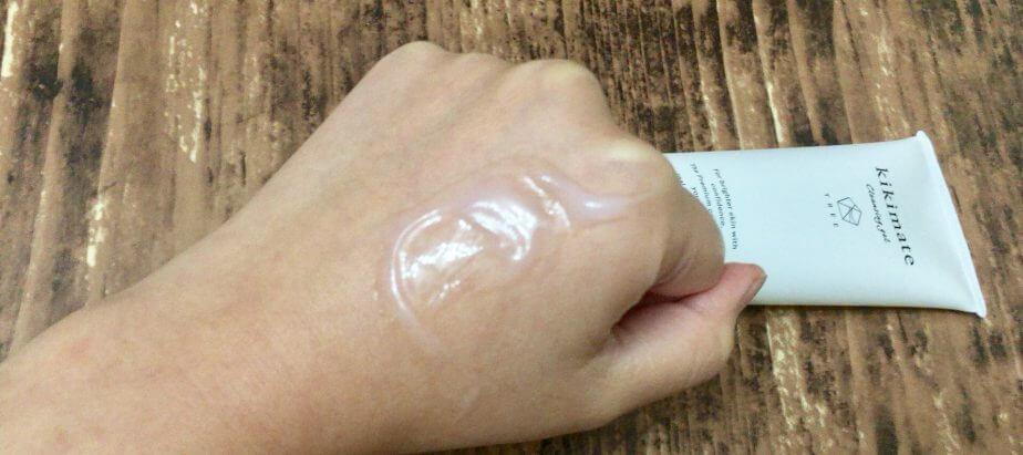 乾燥敏感肌のためのクレンジングジェルkikimate