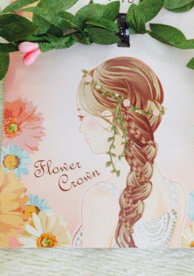 セリアの花のかんむり