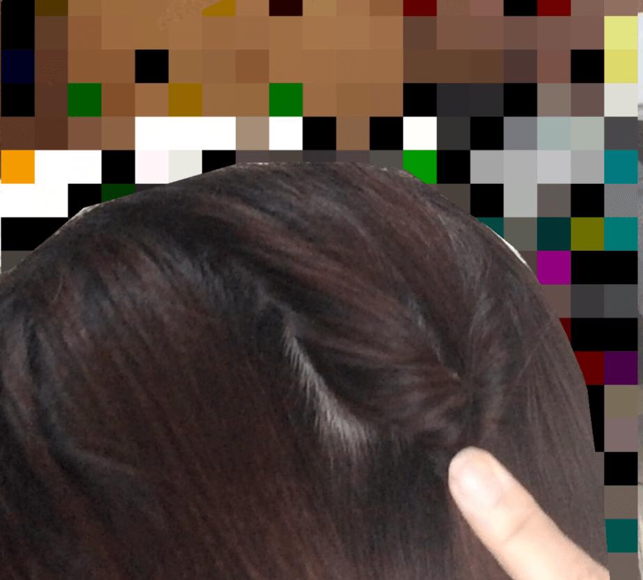 セリアのヘアーアレンジスティックの使い方