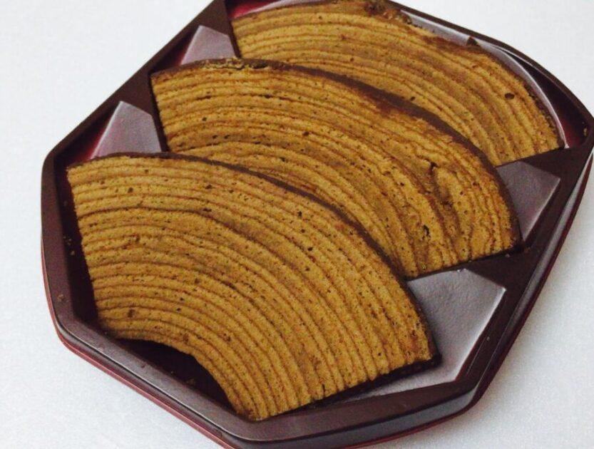 ユーハイムのチョコのバウムクーヘン