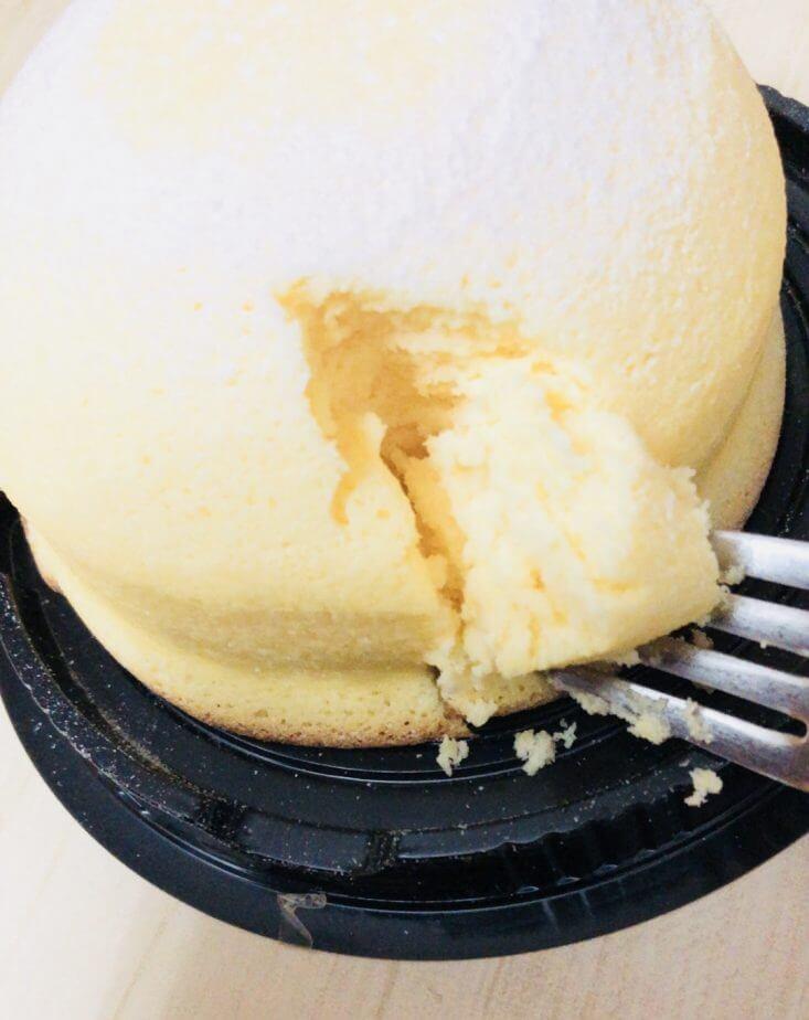 成城石井で買ったアンジェリーナスコットチーズケーキはめっちゃふわふわ