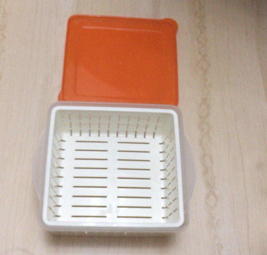ダイソーの電子レンジ調理器温野菜