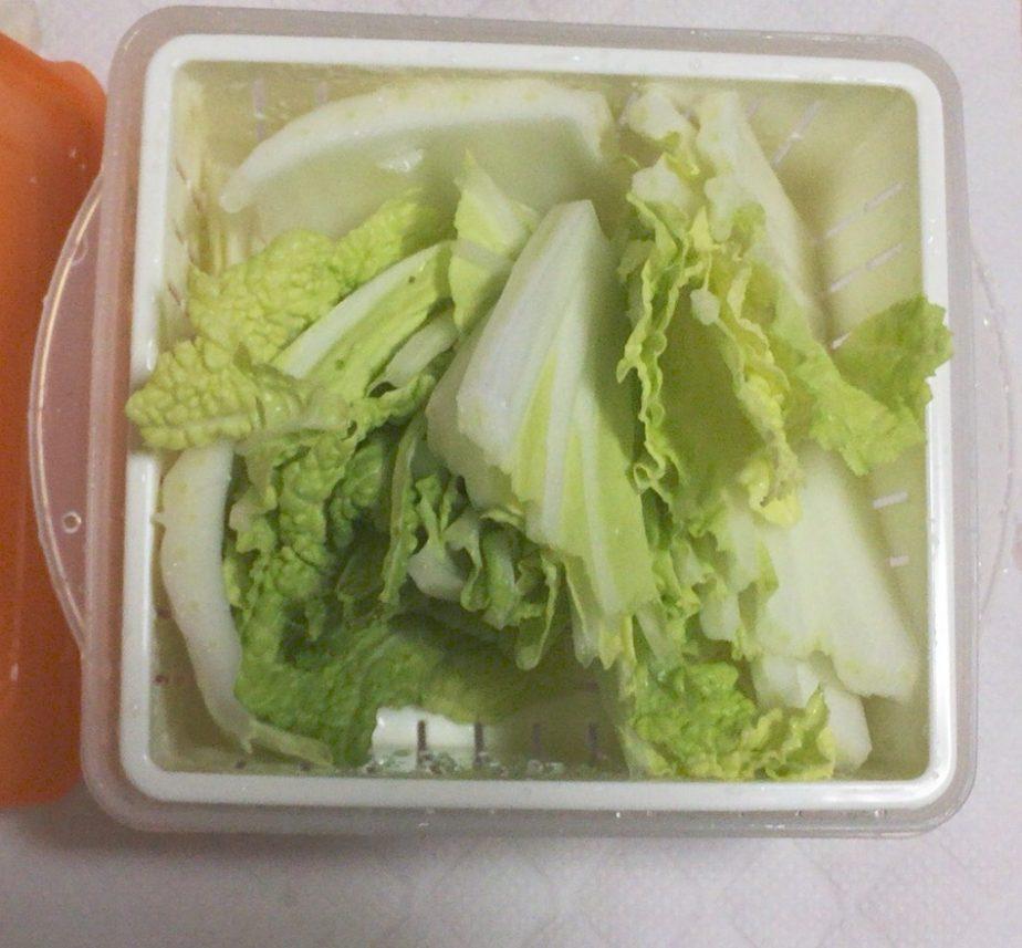 ダイソーの電子レンジ調理器温野菜の使い方