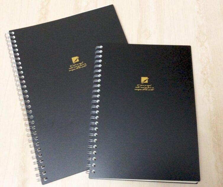 セリアでシンプルかわいいノートを発見!
