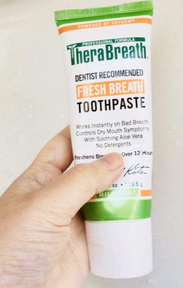 Thera Breath (セラブレス)のマウスリンスと歯磨き粉