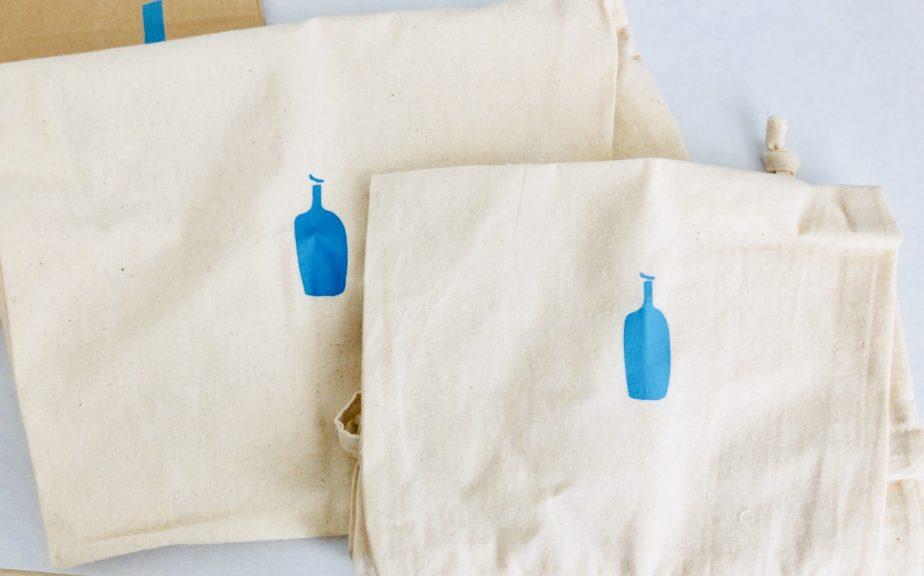 ブルーボトルコーヒーの巾着