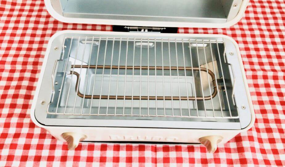 BRUNO(ブルーノ)トースターグリルは掃除しやすい
