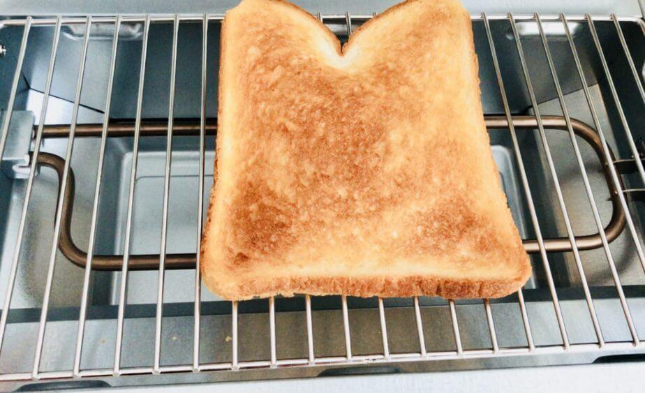 BRUNO(ブルーノ)トースターグリルで食パンを焼いてみた