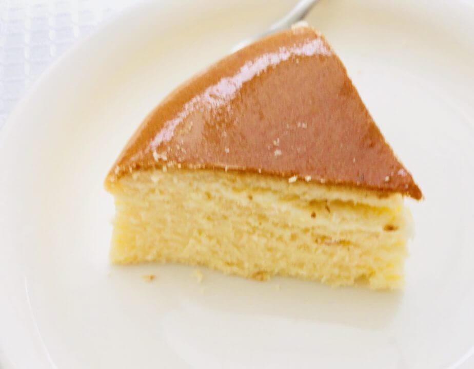 成城石井で買ったスフレチーズケーキがおいしい