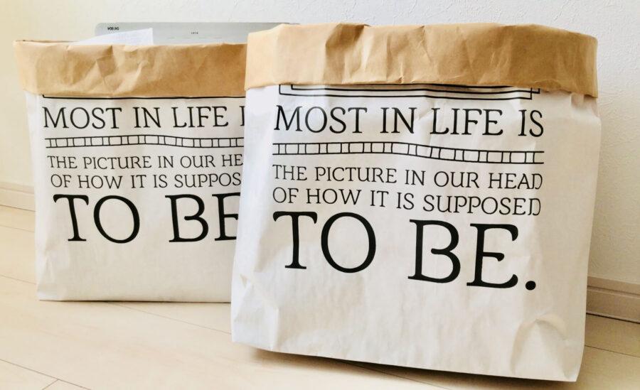 【100均】ダイソー&セリアの袋がめっちゃ可愛い。DIYしてさらに可愛くなった