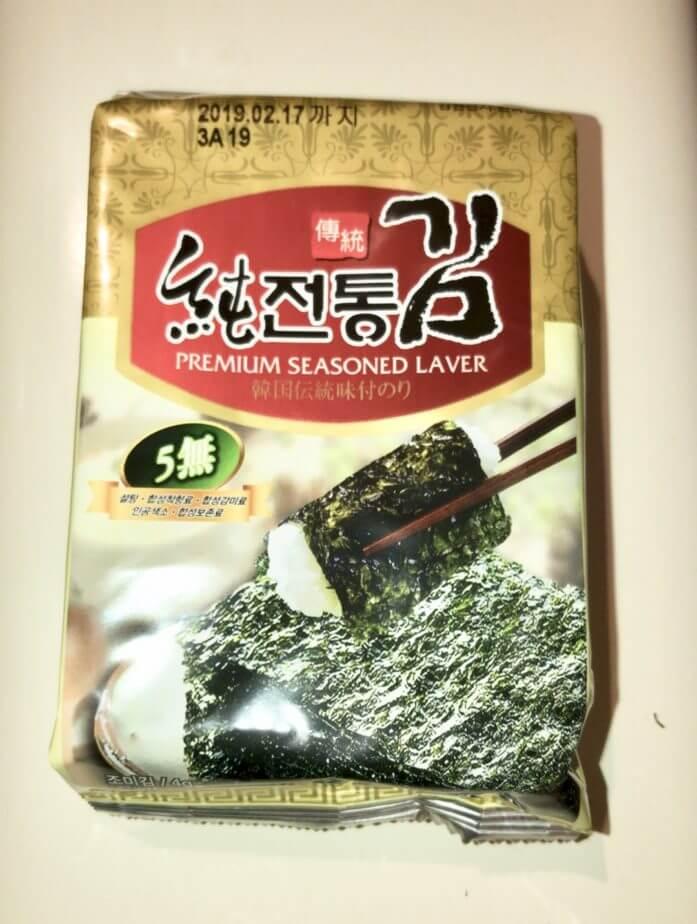 韓国伝統味付のり