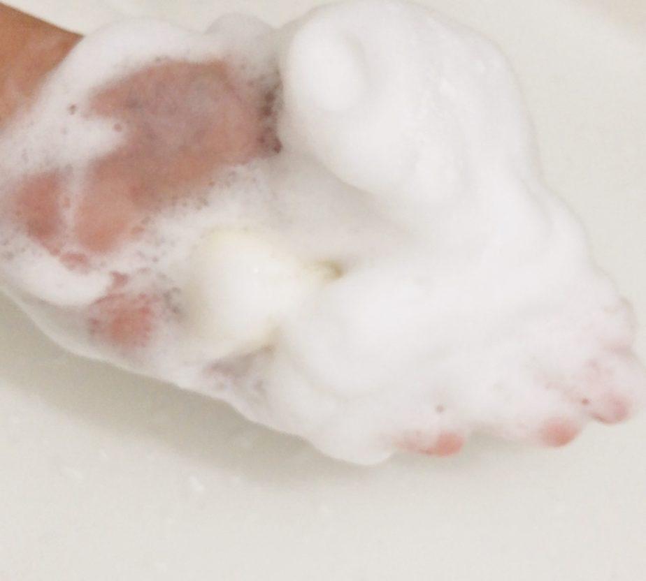 本当の無添加化粧品ワイエスラボの基礎4点トライアルセットの石鹸