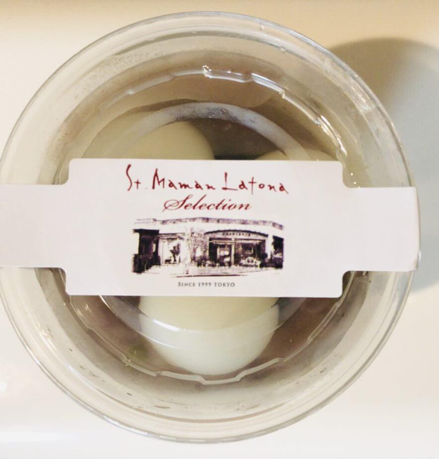 成城石井のママンラトーナ抹茶と黒蜜のゼリー