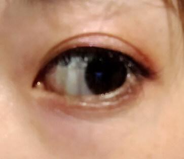 【皮膜アイプチ】リアルふたえリキッドを使った目元