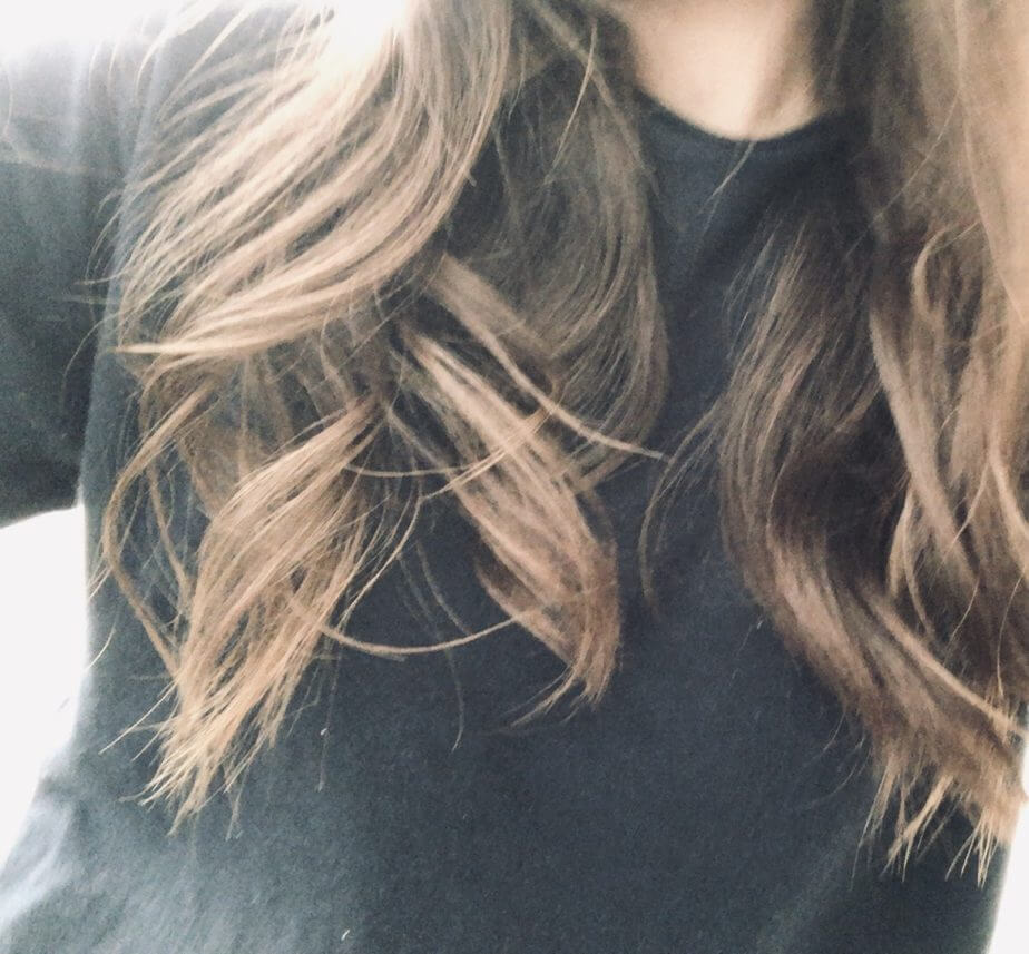 ロレッタハードゼリーを巻き髪につけてみた