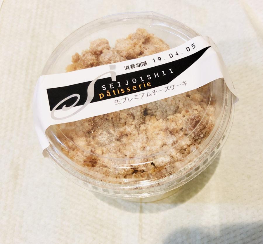 成城石井の生プレミアムチーズケーキ