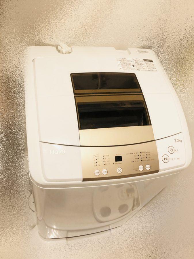 ハイアール洗濯機7kg(JWK70MW)