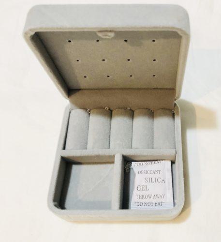 ダイソーのアクセサリー収納ボックス